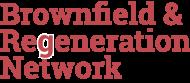 Brownfield & Regeneration Network logo - left side aligned 190px
