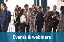 Events & webinars on environmental and sustainability sector