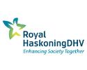 Royal Haskoning DHV  Logo on a Standard Background