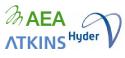 AEA, Atkins, Hyder logos