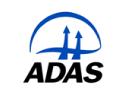 ADAS  logo on standard background