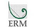 ERM logo  on standard background