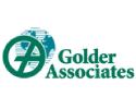 Golder  logo on standard background