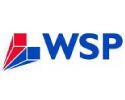 WSP logo  on standard background