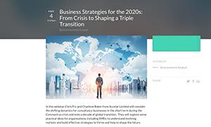 Business Strategies 2020 webinar - thumbnail