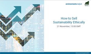 How to Sell Sustainability Ethically webinar - thumbnail