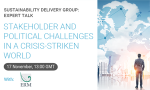Stakeholder and political challenges in a crisis-stricken world thumbnail