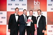 BB-Award-winning-team-for-Project-of-the-Year, with Lord Taylor (right)