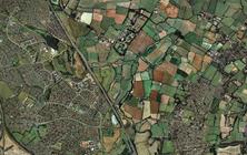 General - Brownfield aerial view