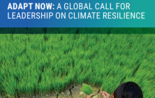 Global Commission on Adaptation's Adapt Now: A Global Call for Leadership on Climate Resilience report