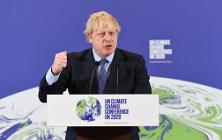 General - Boris Johnson COP26 ©No. 10