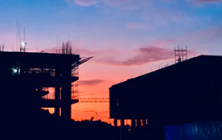 General - Building site sunset ©Haseesh Rahithya