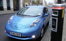 General - Electric car and charging ©MHCLG