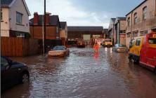 General - flooding Newport © NRW