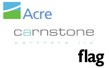 Logo - © Acre © Carnstone © Flag