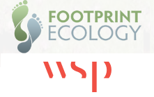Logo - © Footprint Ecology & © WSP