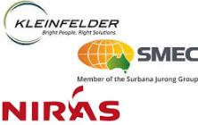 Logo - © Kleinfelder, © SMEC & © NIRAS