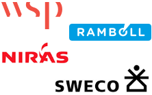 Logo - © wsp © ramboll © niras © sweco