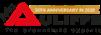 McAuliffe 50 anniversary logo