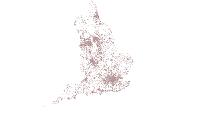 NHF Brownfield map