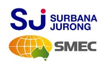 Logo - Surbana Jurong SMEC - credit SJ