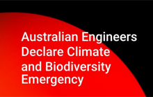 General - Australian Engineers Declare Climate and Biodiversity Emergency