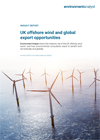 UK offshore wind and global export opportunities cover